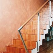 Faltwerk Treppe