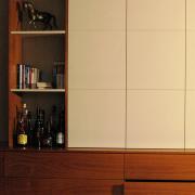 Einbauschrank mit Sideboard
