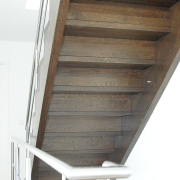 Eiche Treppe gewendelt
